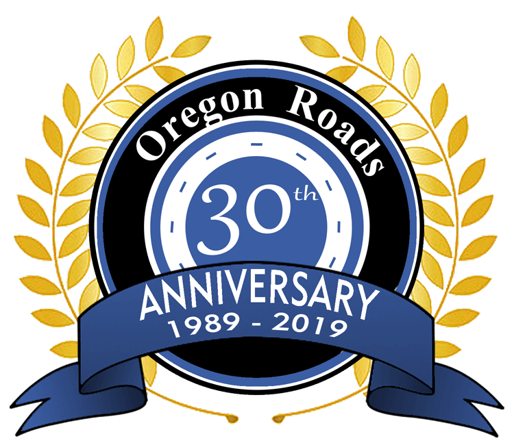 Oregon Roads 30th Anniversary