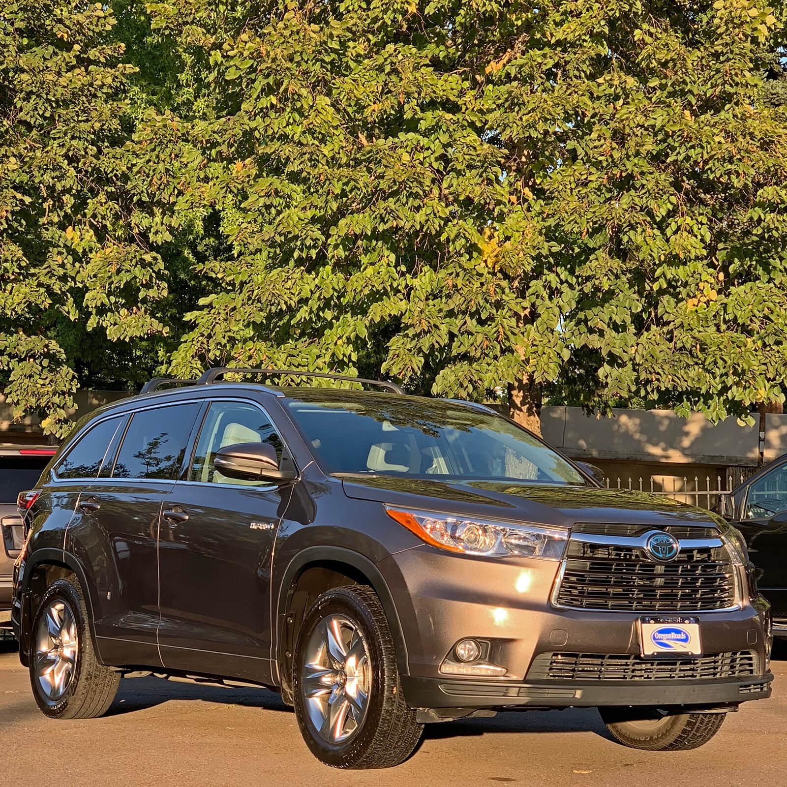 2015 Toyota Highlander Platinum Hybrid